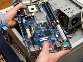 How to install a motherboard and CPU